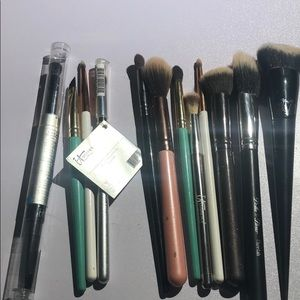 Brush bundle includes some brand new brushes